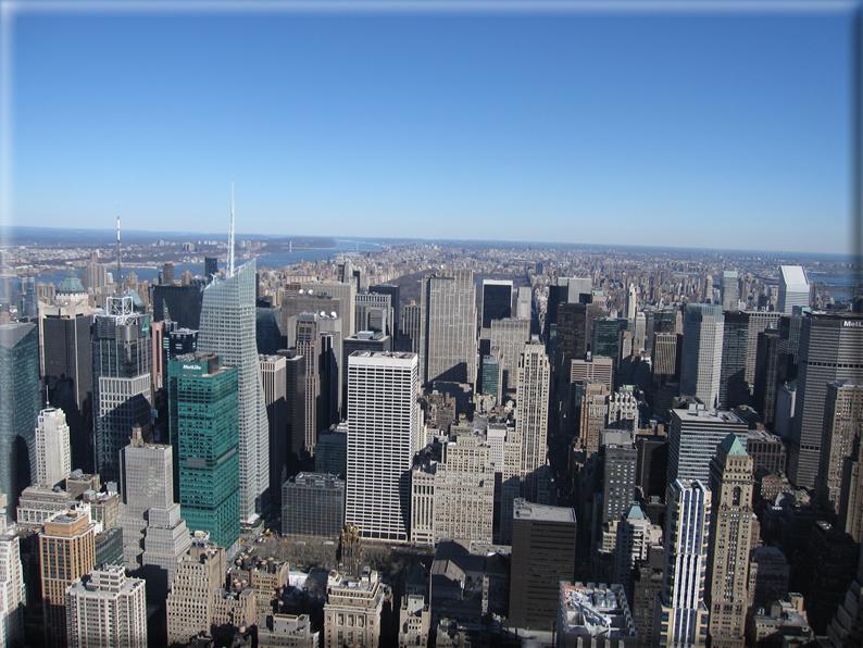 Panorama dai grattacieli di new york foto 011 for Immagini grattacieli di new york
