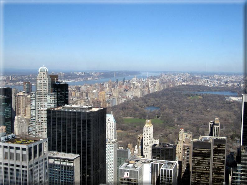 Panorama dai grattacieli di new york foto 024 for Immagini grattacieli di new york