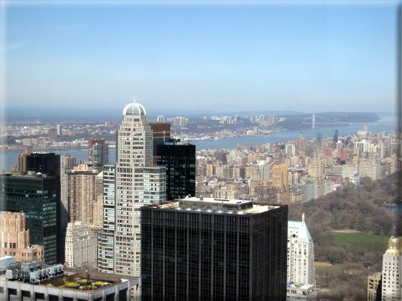 Panorama dai grattacieli di new york for Immagini grattacieli di new york