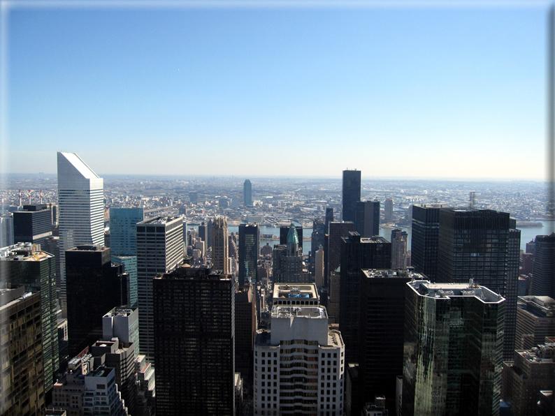 Panorama dai grattacieli di new york foto 028 for Immagini grattacieli di new york