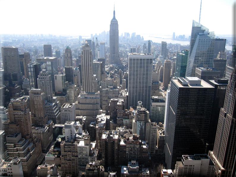 Panorama dai grattacieli di new york foto 035 for Immagini grattacieli di new york