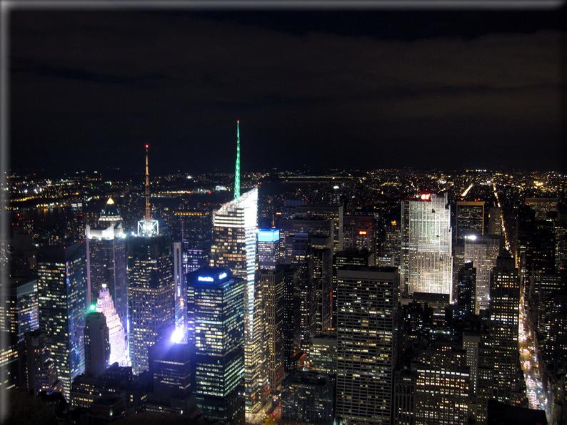 Panorama dai grattacieli di new york foto 056 for Immagini grattacieli di new york