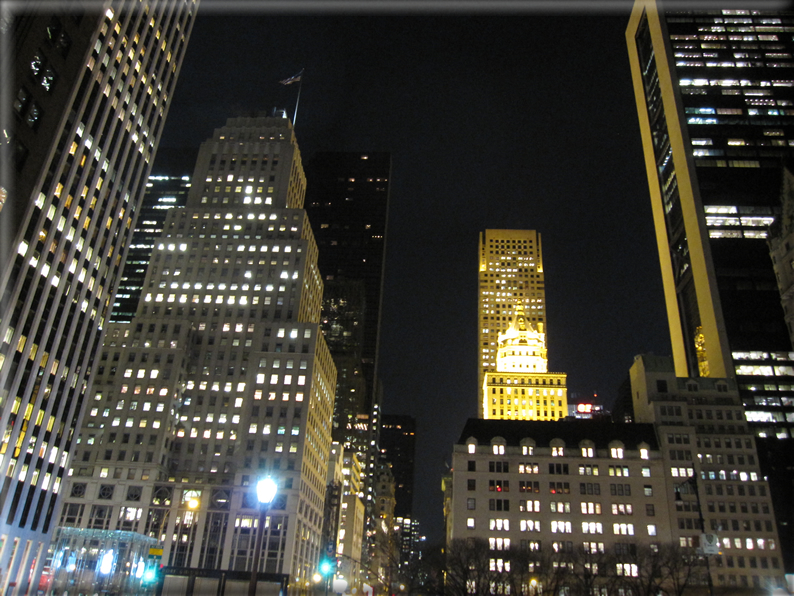 New york di notte foto 001 for Foto new york notte