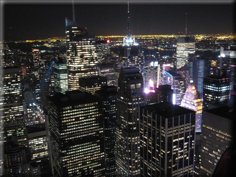 New york di notte foto 012 for Foto new york notte