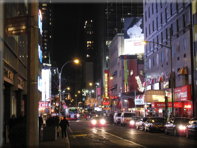 New york di notte foto 017 for Foto new york notte