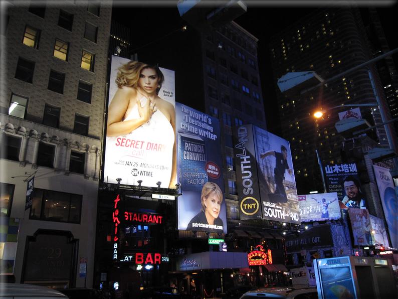 New york di notte foto 021 for Foto new york notte