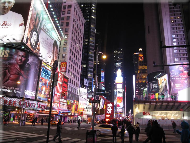 New york di notte foto 024 for Foto new york notte