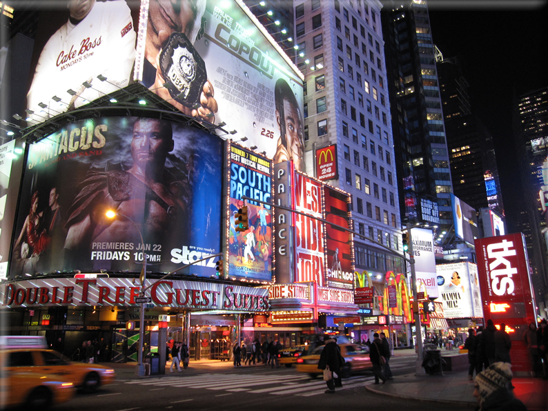 New york di notte foto 025 for Foto new york notte