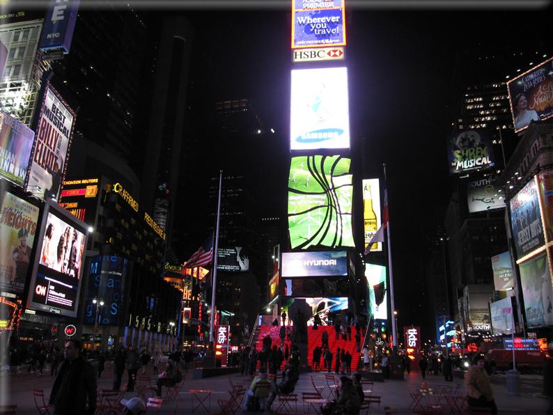 New york di notte foto 032 for Foto new york notte