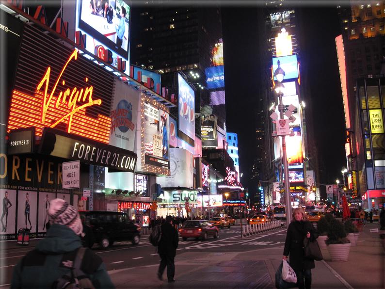 New york di notte foto 034 for Foto new york notte