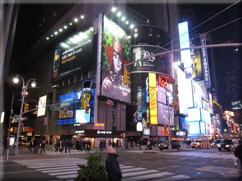 New york di notte foto 036 for Foto new york notte