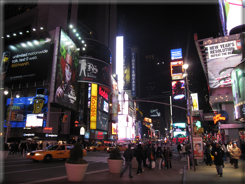 New york di notte foto 040 for Foto new york notte