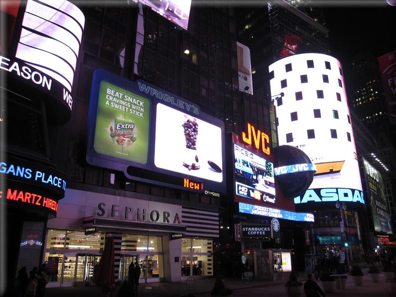 New york di notte foto 042 for Foto new york notte