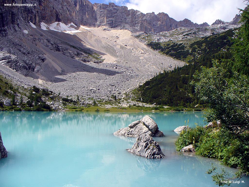 Sfondi per desktop laghi e fiumi sfondo 069 for Cabine per laghi