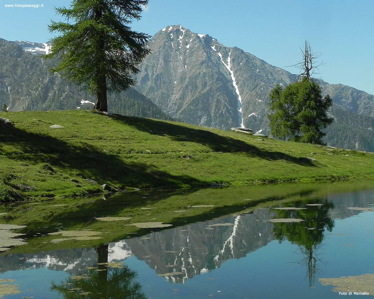 Sfondi per desktop laghi e fiumi sfondo 079 for Cabine per laghi