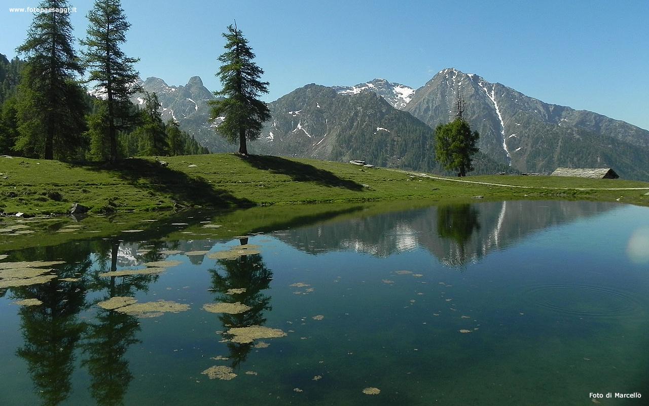 Sfondi per desktop laghi e fiumi sfondo 080 for Cabine per laghi
